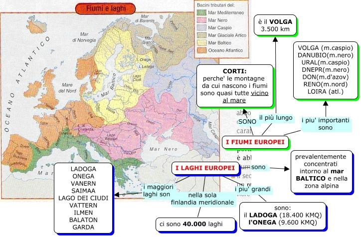 Ilmen balaton garda i fiumi europei il più lungo è il volga 3 500 km